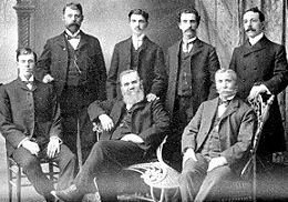 primi chiropratici, 1905