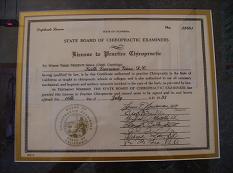 Diploma abilitazione California