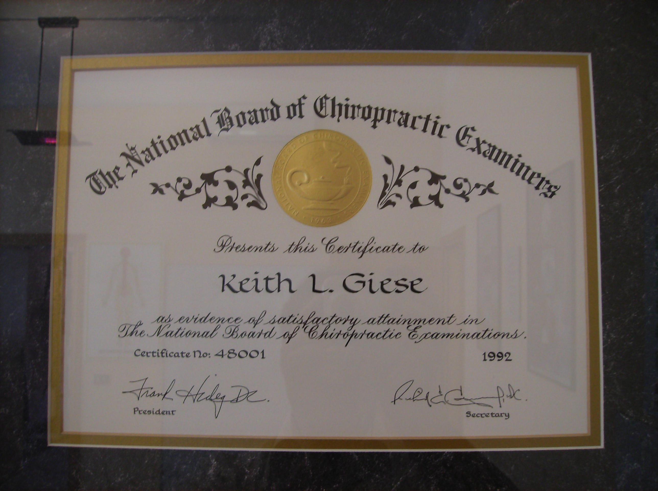 Diploma abilitazione Stati Uniti