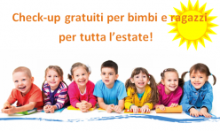 Check-up bimbi estate 2018