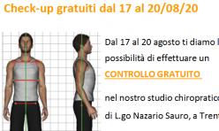 Controlli posturali gratuiti